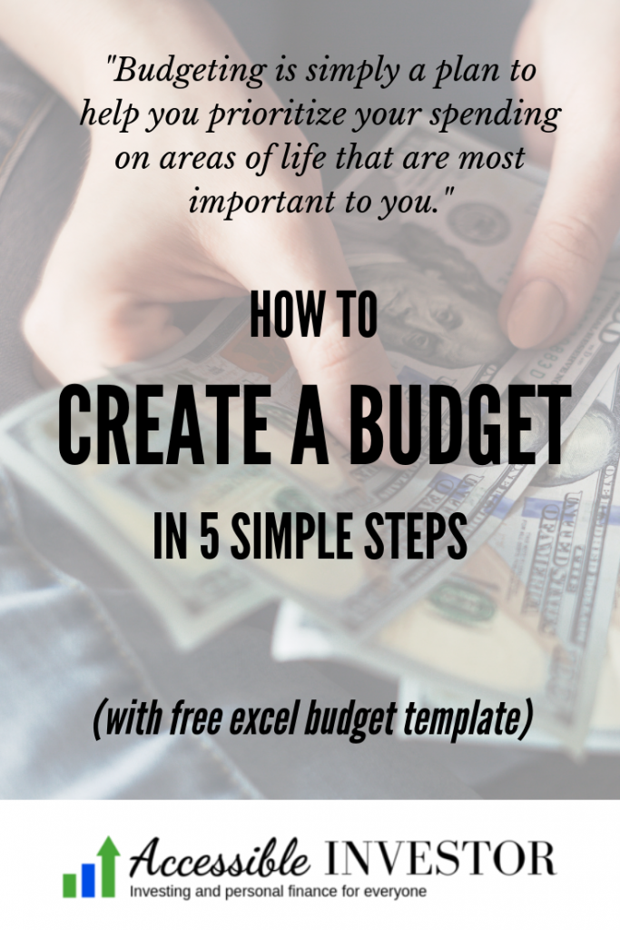 AccessibleInvestor.com - How to create a budget