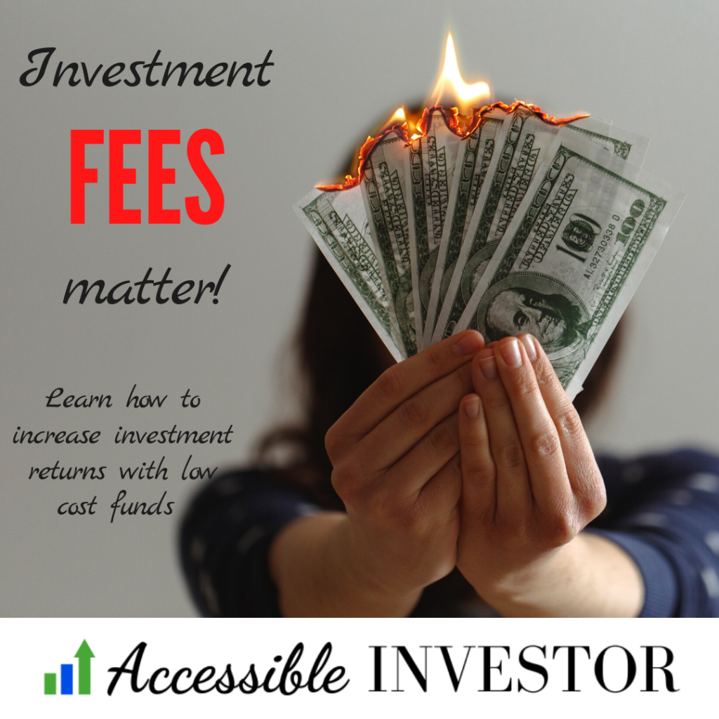 Investment fees matter - how to increase investment returns with low cost index funds
